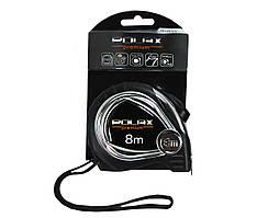 Рулетка Polax Premium 8 м х 25 мм нейлонове полотно (29-010)