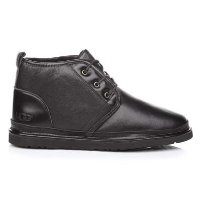 Ugg Naumel Boots Black Leather