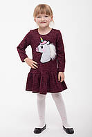 Платье детское Пони, (2цв), платье для девочки, детская одежда, дропшиппинг