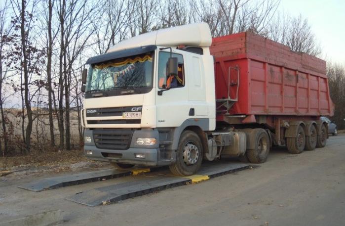 Подкладные весы для еврофур АКСИС15-П Д
