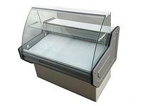 Витрина холодильная PVHSU-1,6 «INTEGRA» (нерж.сталь, с охл. боксом)