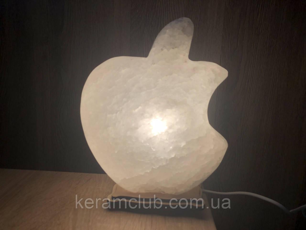 Соляной светильник apple