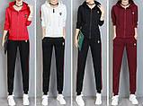 РІЗНІ кольори Gucci original Жіночий спортивний костюм + футболка гуччі, фото 2
