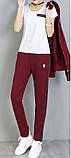 РІЗНІ кольори Gucci original Жіночий спортивний костюм + футболка гуччі, фото 4