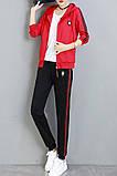 РІЗНІ кольори Gucci original Жіночий спортивний костюм + футболка гуччі, фото 7