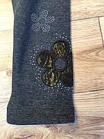 Лосины на меху для девочек оптом, F&D, 4-12 лет.,арт.9790, фото 6