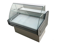 Витрина холодильная PVHSU-1,2 «INTEGRA» (нерж.сталь, с охл. боксом)