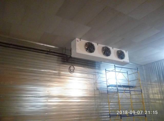 Холодильная камера для хранения яблок! 10
