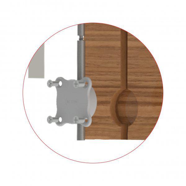 Металлический выравниватель двери, фото 1