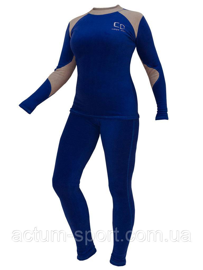 Термобелье женское Carpe Diem Soft Heat Blue L