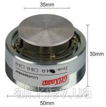Вибро динамик 20вт 4Ом аудио звук через поверхность вибростенд виброкресло