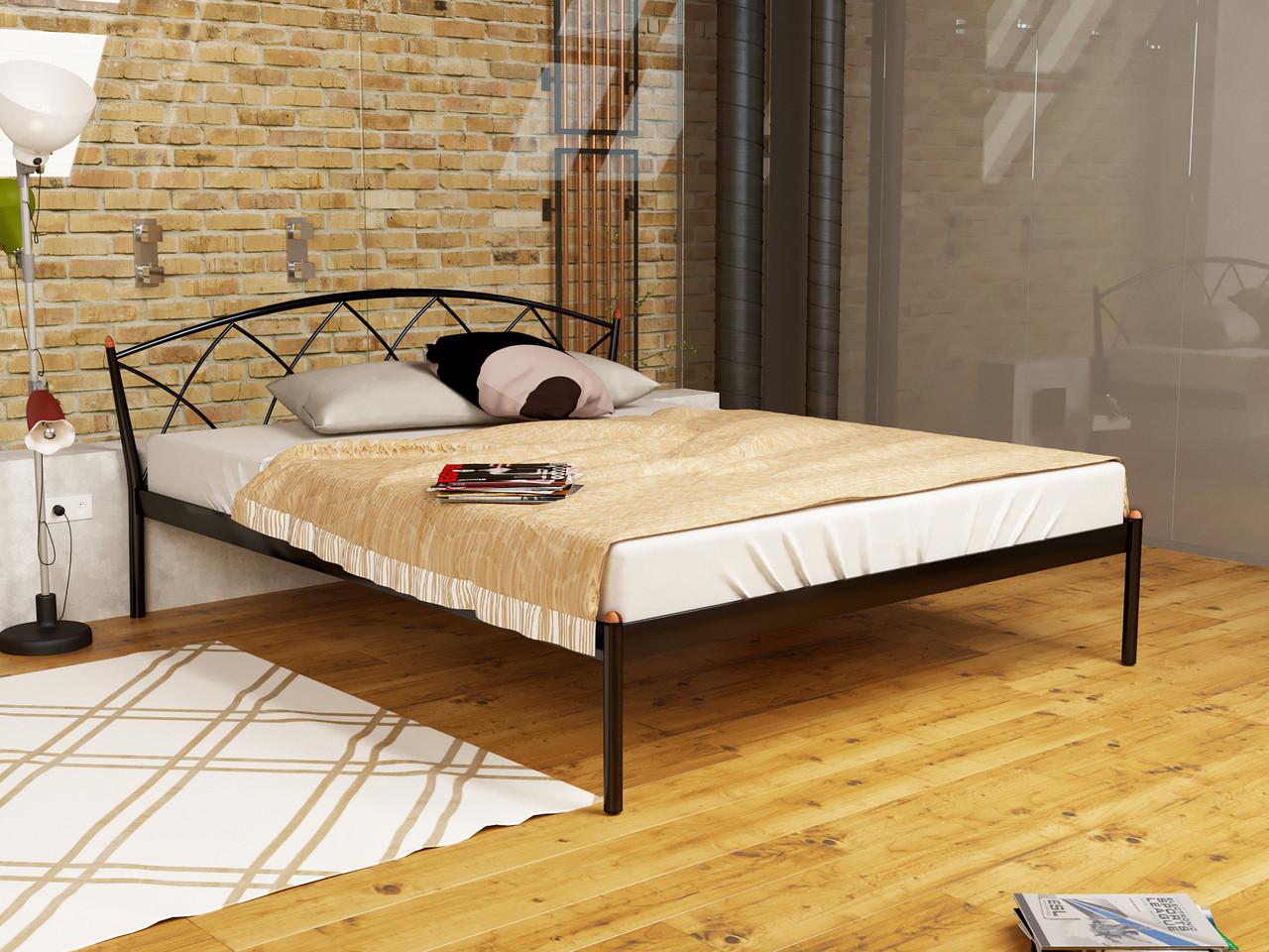 Кровать металлическая Жасмин Элегант-1 (JASMINE ELEGANCE)