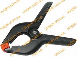 Пластиковий ручний затискач (прищепка) СТАЛЬ на 150 мм