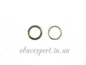 Кольцо проволочное 8 мм Никель толщ. 1,5 мм (10 шт), фото 2