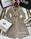 Кардиган-платье люрексовая нить (2 цвета), фото 4