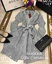 Кардиган-платье люрексовая нить (2 цвета), фото 5
