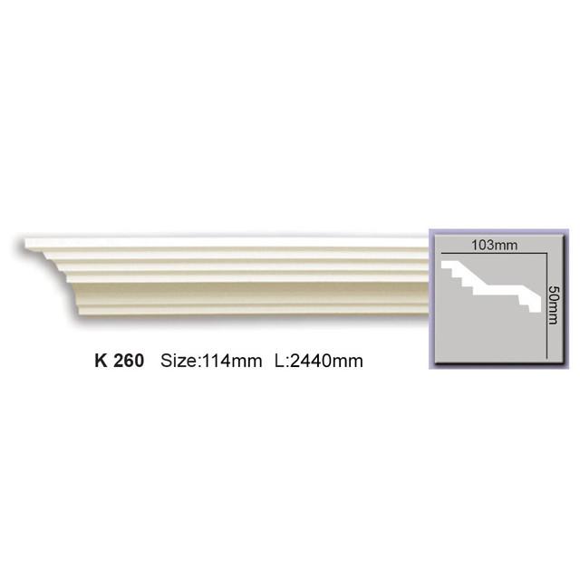 Карниз Harmony K260 (46x103)мм