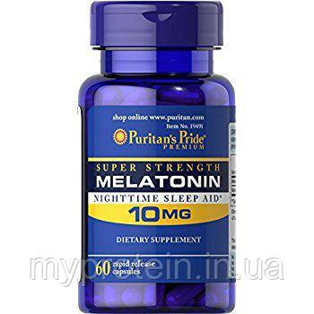 Puritan's Pride Мелатонин для сна Melatonin 10 mg 60 caps