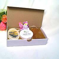 Набор косметический для детей (мыла глицериновые и крем-бальзам)
