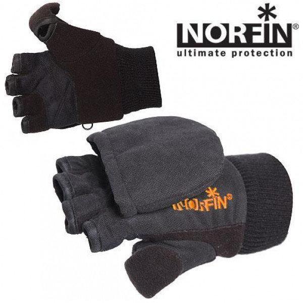 Перчатки-варежки c магнитом Norfin Junior 308811 M