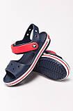 Крокс босоножки детские оригинал - Crocs Unisex Crocband Kids Sandals 34-35 р, фото 4