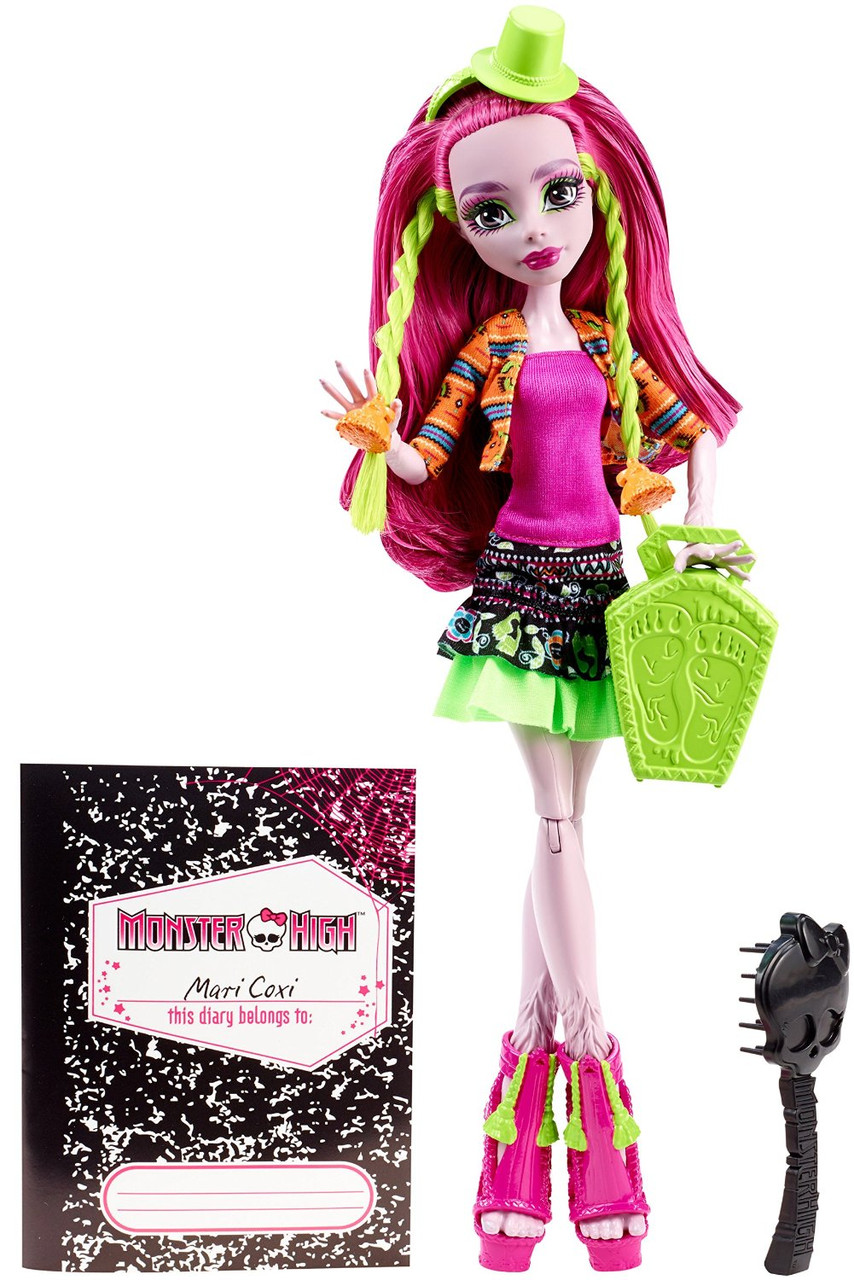 Кукла Марисоль Кокси Монстры по обмену (Monster Exchange Program Marisol Coxi Doll)