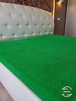 Махровая простынь 150*200 зеленая Узбекистан