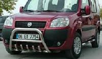 Кенгурятник автомобильный, боковые подножки Fiat Doblo