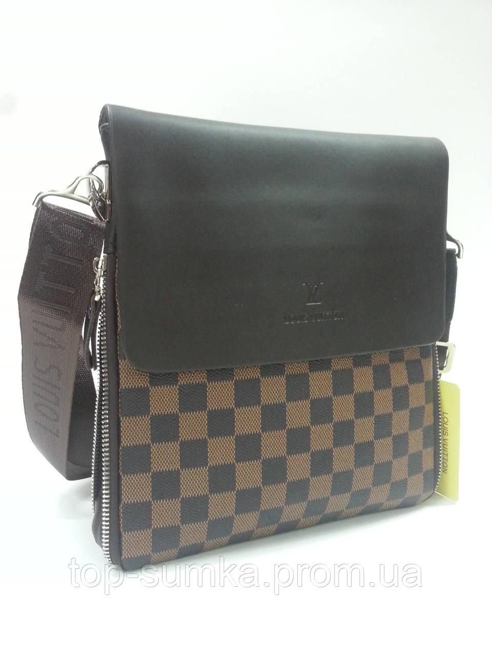 f25ff4e6858e Сумка -планшет мужская 9981 Louis Vuitton , 26 х 22 х 2 -5 см ...