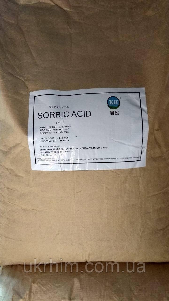 Сорбиновая кислота От 1 кг.