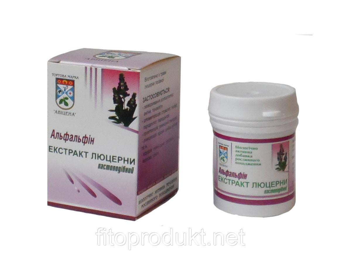 Альфальфин П пастоподібний екстракт люцерни 30 г Авіценна