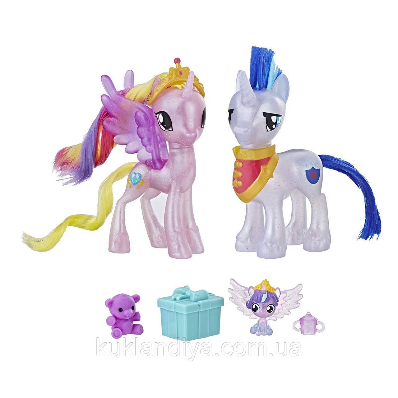 My Little Pony Принцесса Каденс, Шайнин Армор и Флари Харт набор Праздник