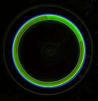 Подсветка колес светодиодная, подсветка дисков, лайм