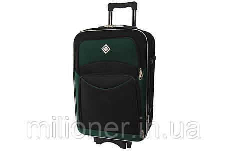 Чемодан Bonro Style (средний) черно-зеленый, фото 2