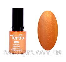 Гель-лак Tertio №021 (золотистый, микроблеск), 10 мл