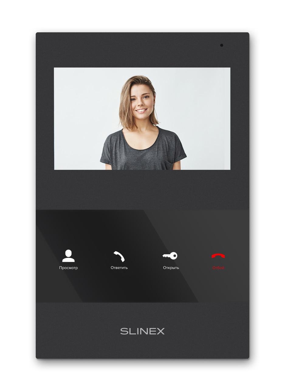 """Видеодомофон с детекцией движения Slinex SQ-04M, экран 4"""", фото 1"""