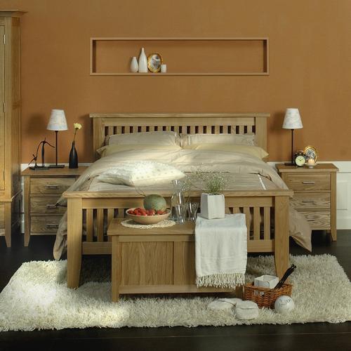 """Двухспальная кровать из дерева """"Карнеги"""""""
