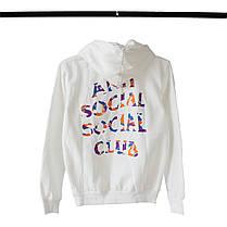 Худи Anti Social Social Club x Bape White (ориг.бирка), фото 2