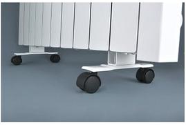 Подставки с колёсиками для напольной установки электрорадиаторов Flyme / комплект 2 шт