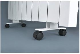 Підставки з коліщатками для підлогової установки електрорадіаторів Flyme / комплект 2 шт