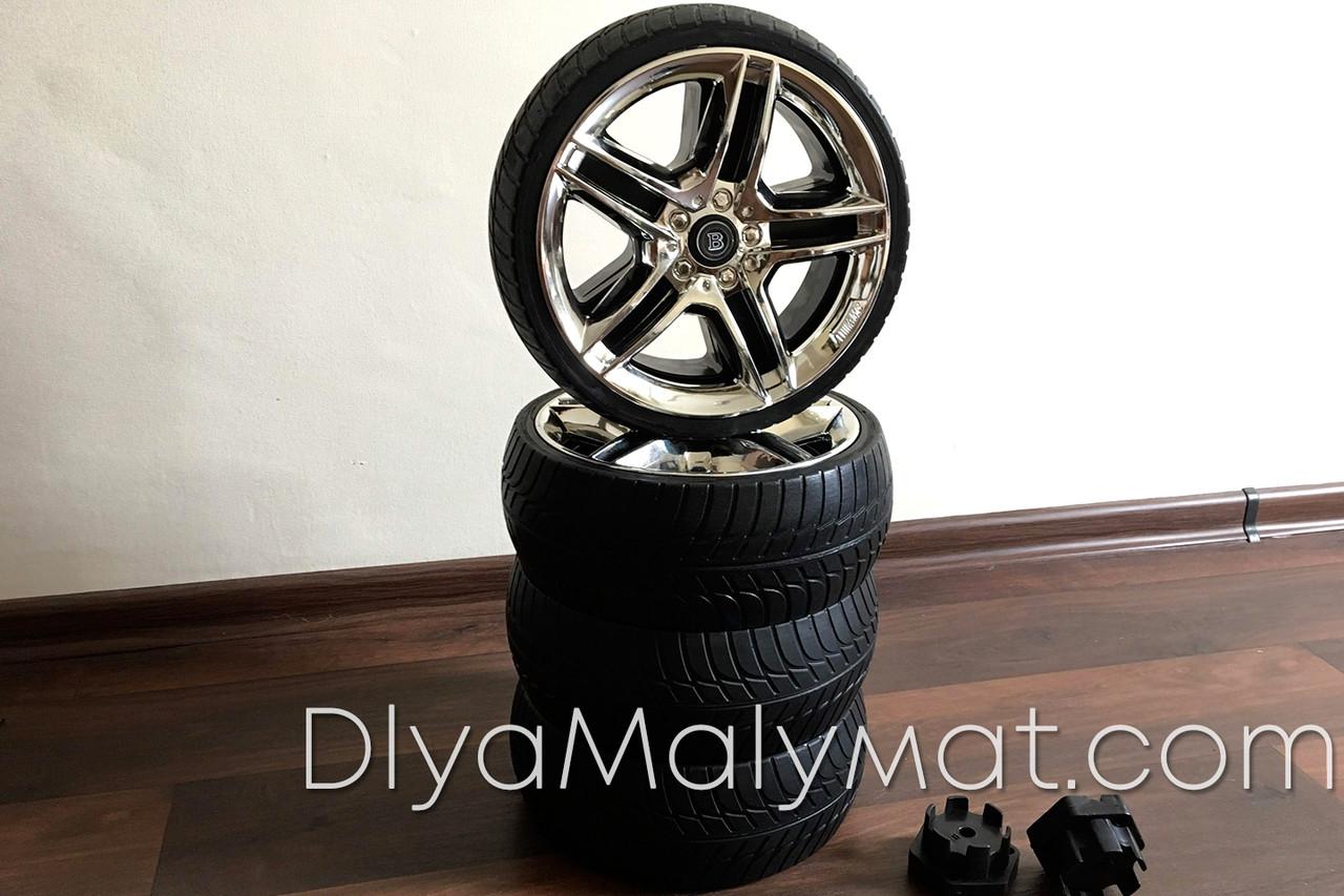 Комплект EVA колес 4шт d - 265 мм c переходниками