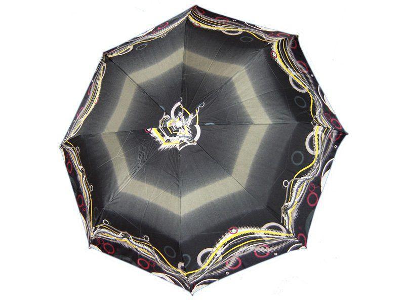 Зонт женский полуавтомат AIRTON (АЭРТОН) Z3615-29, Черный