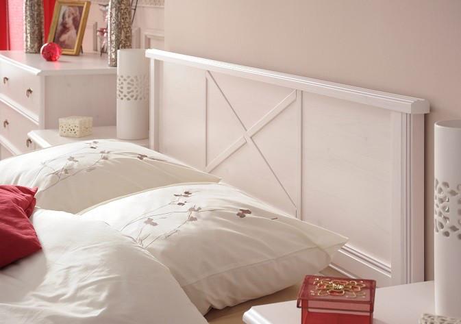 """Двухспальная кровать из натурального дерева """"Мелиса"""""""