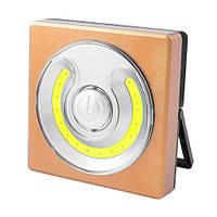 Фонарь кемпинг WH001-COB, магнит, настольная подставка, 4хААА