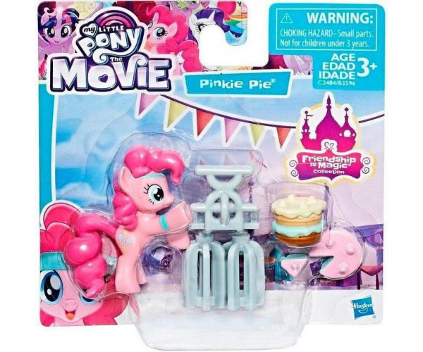 My Little Pony хасбро май литл пони коллекционные с аксессуарами Pinkie Pie B3596 C2484 Bigl Ua