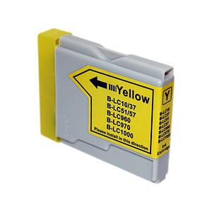 Картридж Brother FAX-1560 жёлтый совместимый (35мл) WoX