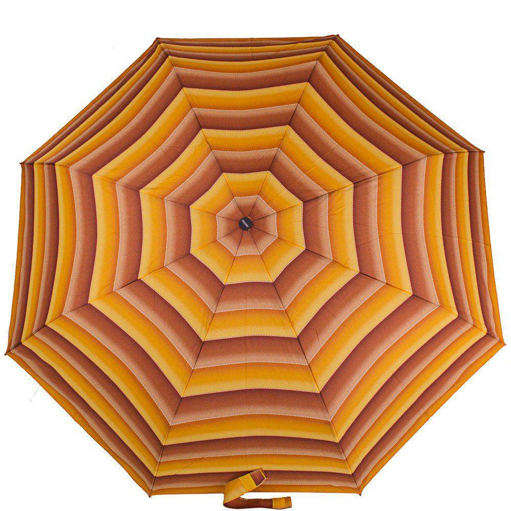 Зонт женский компактный автомат DOPPLER (ДОППЛЕР) DOP7441465ST-3, Коричневый