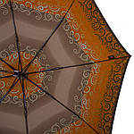 Зонт женский полуавтомат DOPPLER (ДОППЛЕР) DOP73016519-8, Серый, фото 3