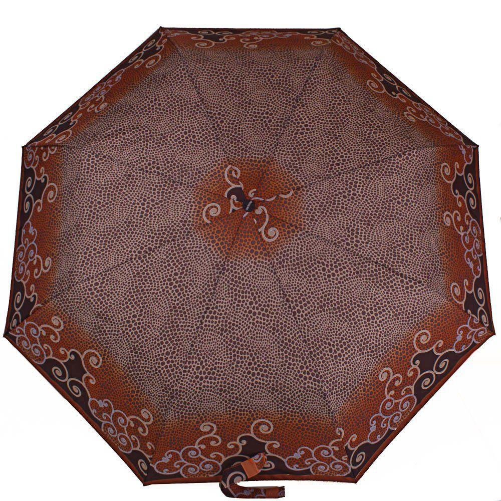 Зонт женский полуавтомат DOPPLER (ДОППЛЕР) DOP73016519-3, Коричневый