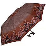 Зонт женский полуавтомат DOPPLER (ДОППЛЕР) DOP73016519-3, Коричневый, фото 2